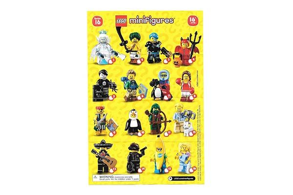 Minifigure Collection Serie 16