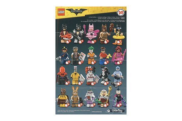 LEGO® Batman Movie Minifigure Series