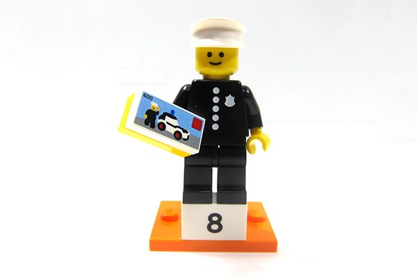 Minifigure Collection Serie 18 - Classic Police Officer