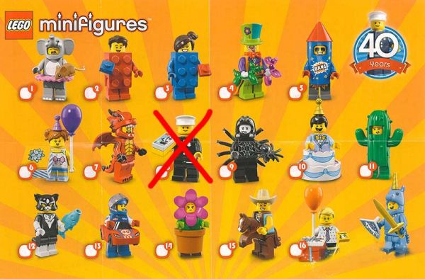 Minifigure Collection Serie 18