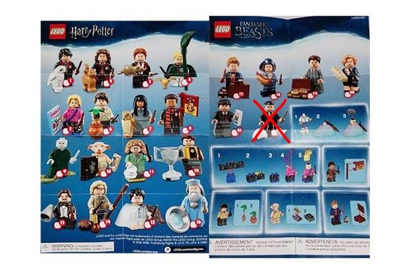 Minifigure Col. Harry Potter [Set 21]