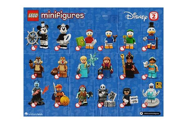 Minifigure Collection Disney Series 2